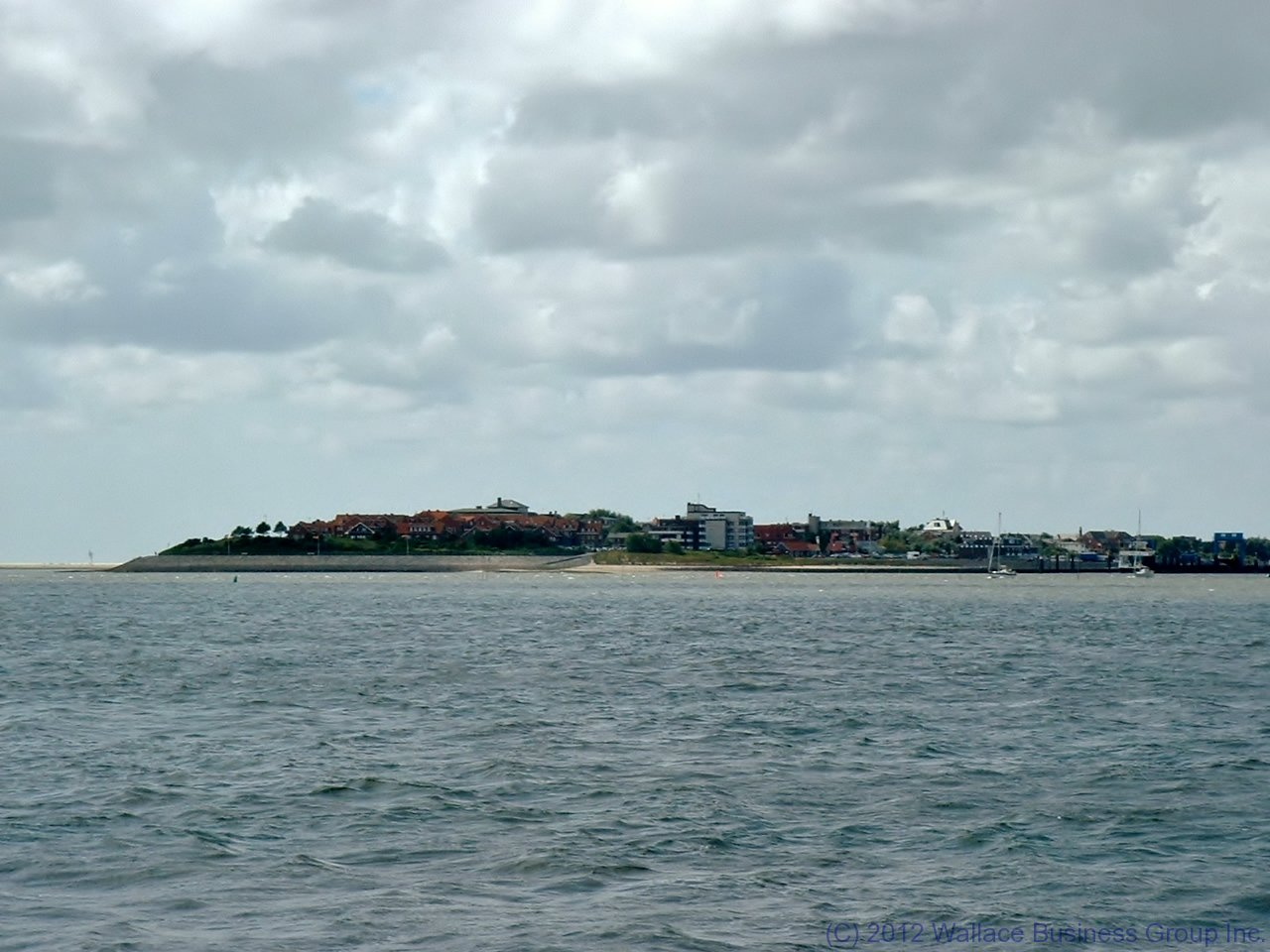 Wittdün, Amrum\'s main settlement