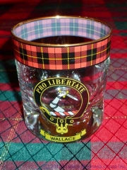 Wallace Clan Whisky Glass