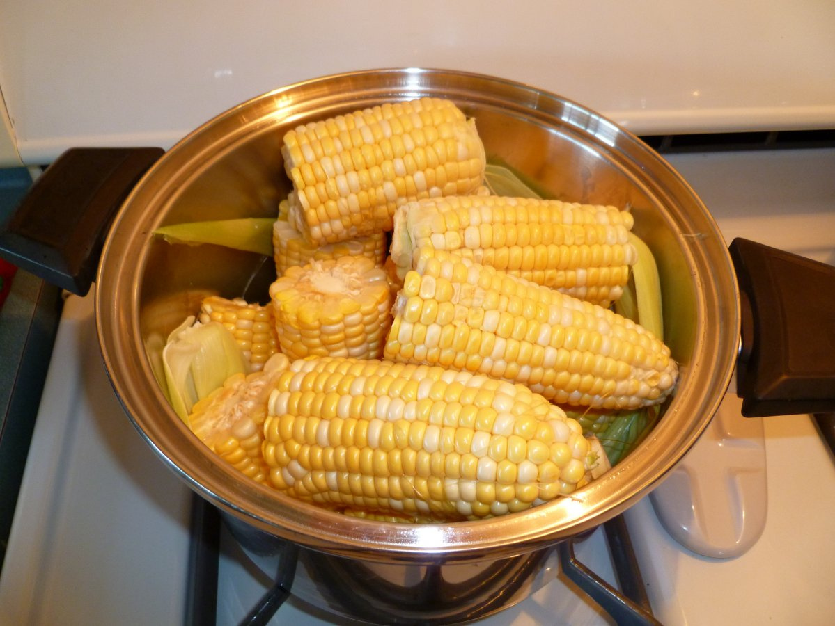 Waterless Corn on the Cob