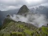 Early Morning mist at Machu Picchu
