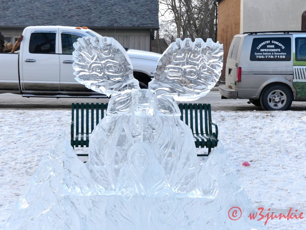 Lakefield Ice Sculpture