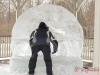 Ice Sculptor at Work