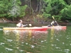Show-offs in their lightweight kayaks!