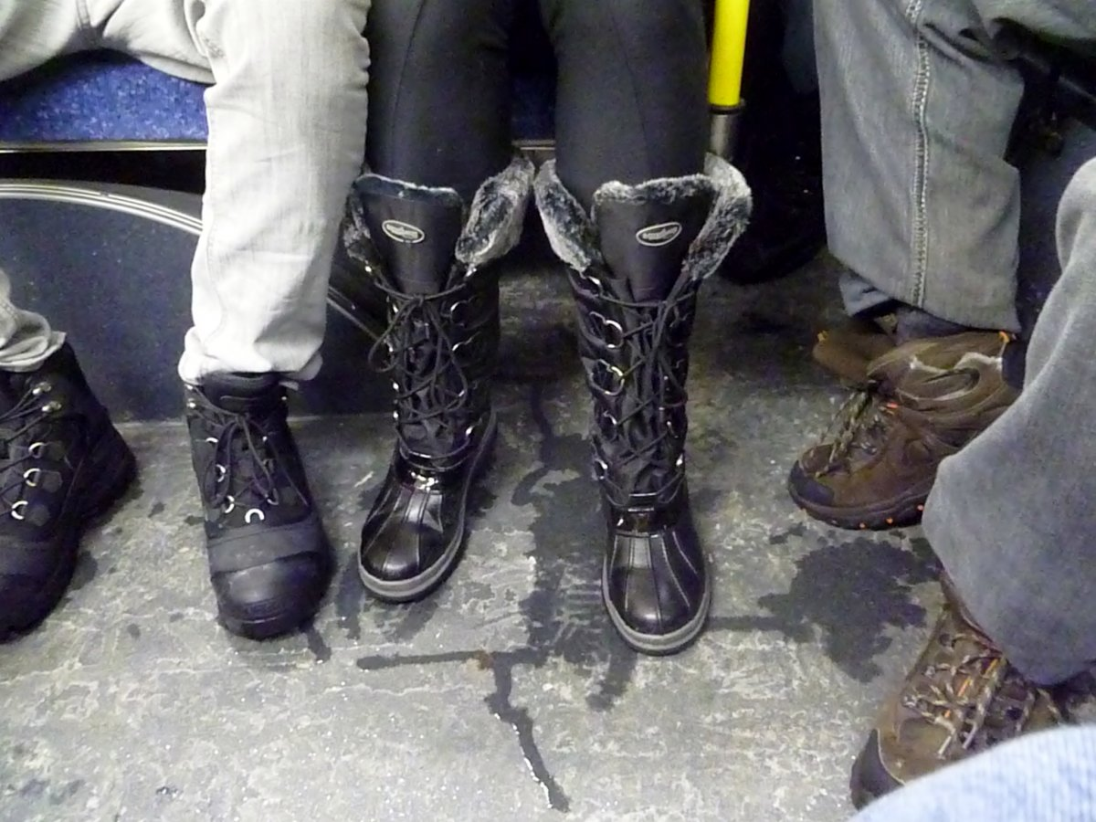 Boots on the Bus!