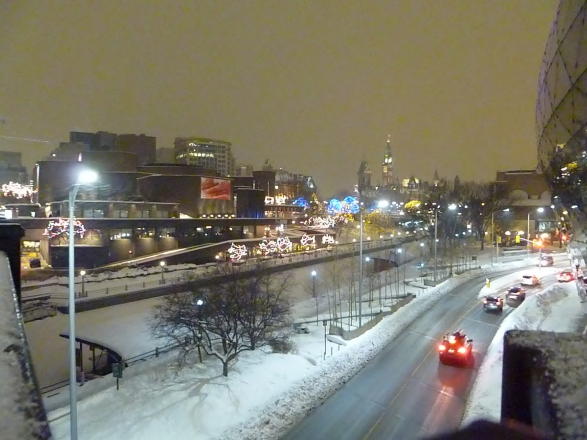 Looking Downtown from the Rideau Centre