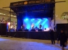 The main stage for Ottawa Hogmanay party 2012