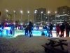 Lots of People taking advantage of The Rink of Dreams!